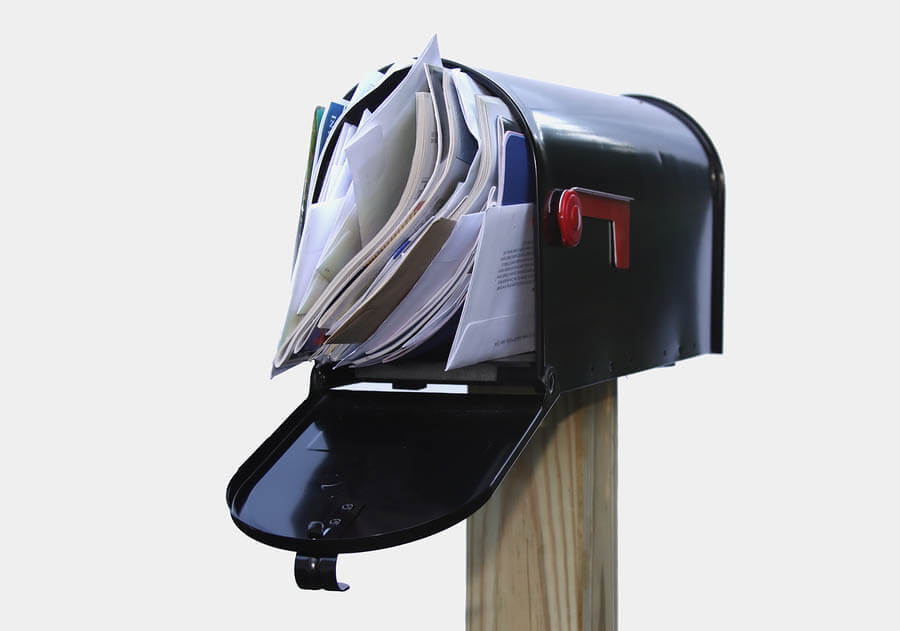 How to eliminate junk mail in Eugene, OR